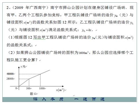 初中数学一次函数,掌握知识点才能轻松解题